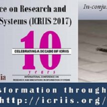 ICRIIS 2017