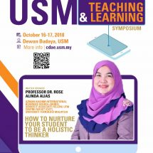 "Professor Dr. Rose Alinda Alias @ USM's Teaching & Learning Symposium ""HEBATising Future Talents #USMStyle"