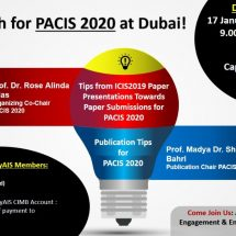Let's Publish at PACIS2020 at Dubai