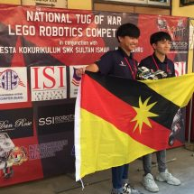 MyAIS Branding at the National Tug of War Lego Robotics Competition